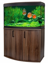 Fluval Vicenza 180 Walnut LED Aquarium Kit
