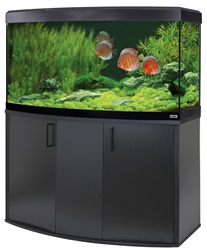 Fluval Vicenza 260 Black LED Aquarium Kit