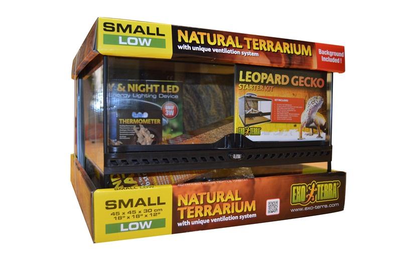 Eastern Exo Terra Leopard Gecko Starter Kit Brand New